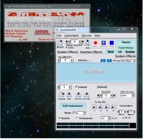 ZynAddSubFX (interfaz principal)