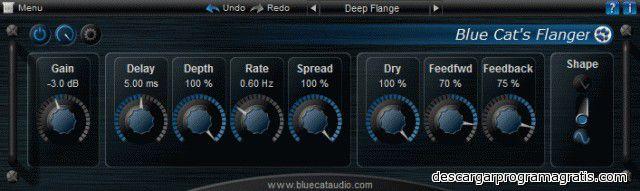 Blue Flanger